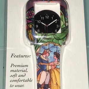 BNWT Beauty and the beast Apple Watch cover/band